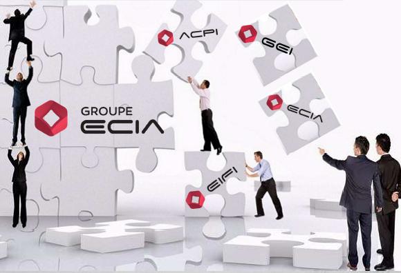Une seule et même entité pour Groupe Ecia