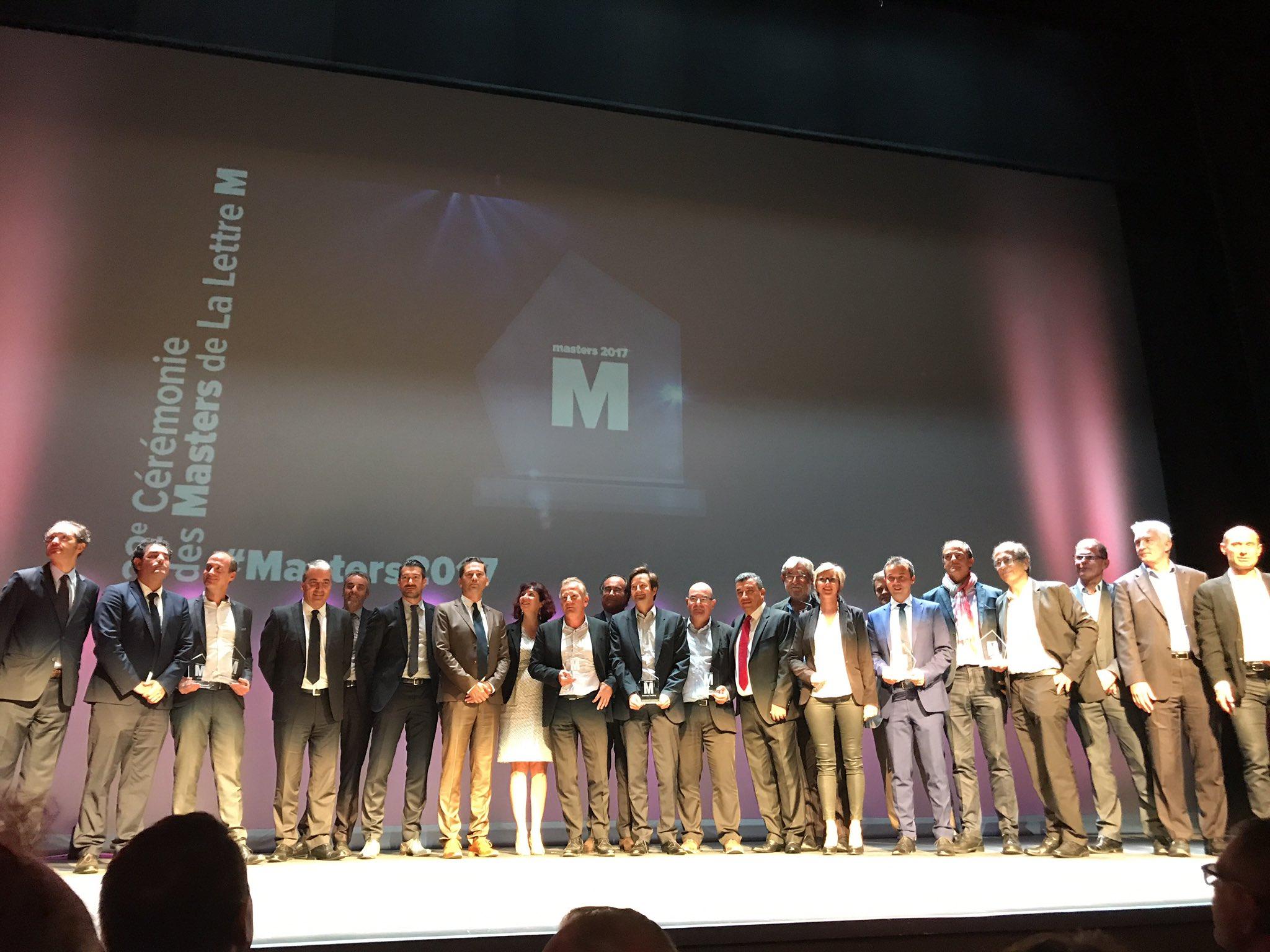 Masters 2017 : Le trophée coup de coeur remis à Groupe Ecia