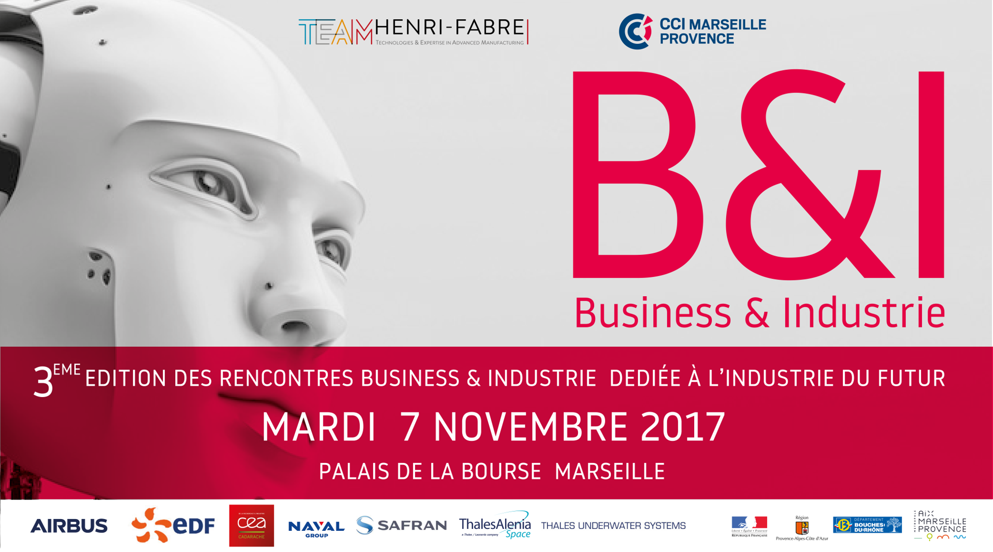 Rdv Business et Industrie à Marseille