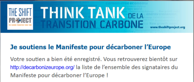 Think Tank de la transition carbone