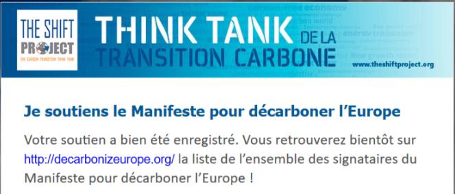 Think Tank de la transition carbone